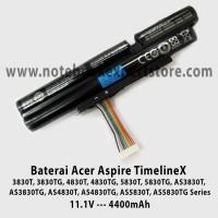 Baterai Acer TimelineX 3830T, 3830TG, 4830T, 4830TG, 5830T, 5830TG