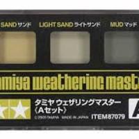 87079 Tamiya A Weathering Master Set - (Sand, Light Sand, Mud)