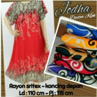daster klok jodha baju tidur batik dress motif Bali