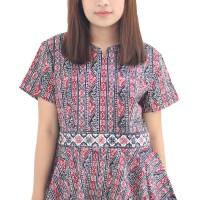 Model Baju Batik Wanita Cap Asli Medan Berkualitas - Zallatra