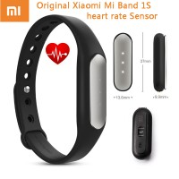 Original Xiaomi Mi Band 2 / 1S Pulse Light Senstitive (Black) MiBand
