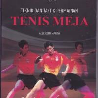 Tenis Meja Teknik dan Taktik Permainan