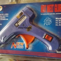 Jual Pistol lem tembak / lem lilin / hot melt glue gun/ tembakan lem bagus Murah