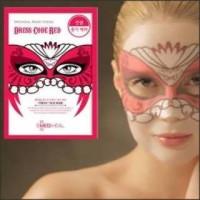 Dress Code Red Mediheal Masker Korea (RED / MERAH)