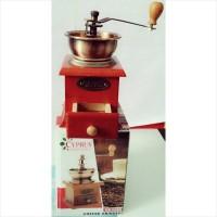 Coffe Grinder Cryprus GR-0062 Manual Box Kayu