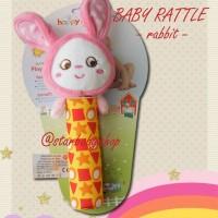 Baby Rattle Happy Rabbit