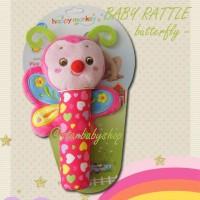 Mainan Bayi Anak Rattle Baby - Happy Butterfly