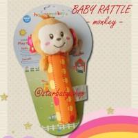 Mainan Bayi Anak Rattle Baby - Happy Monkey