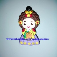 harga Tempelan Magnet Kulkas Maskot Korea Mini Figure #5 Tokopedia.com