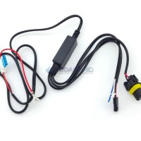Kabel Relay HID Mobil Motor Projector H4 H6 Booster Hi Lo Switch