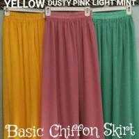 harga Rok Sifon Chiffon Skirt Good Quality Tokopedia.com