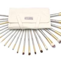 NOO NERDS - Beige SQUAD Brush Set 24pcs Luxury BRUSH - Luxury Case ORI