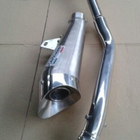 Knalpot Honda CBR 150 Lokal / Thailand Leo Vince Fullset - Harga Hemat