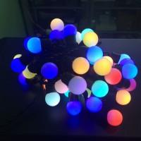 harga Lampu LED ball hias warna warni gantung 50 LED Himawari Tokopedia.com
