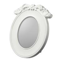 Ikea Kvill ~ Bingkai Foto Dekorasi  Oval, Putih, 13x18Cm Picture Frame