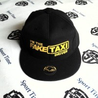 Snapback Fake Taxy Driver - Black / Yellow
