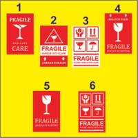 Stiker Fragile / Jangan Dibanting / Awas Pecah / Label Pengiriman
