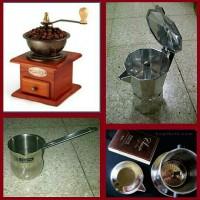 harga Personal Coffee Maker 1 | Grinder | Moka Pot | Arabic | Vietnam Drip Tokopedia.com