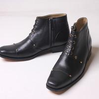 sepatu boot kulit kambing ( Flavio Dante ) Ready Stock