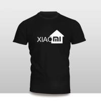 kaos baju pakaian handphone gadget merk xiomi logo rumah murah