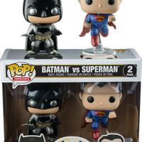 harga Funko Pop! Batman Vs Superman [2-Pack Metallic] (Dawn of Justice) Tokopedia.com