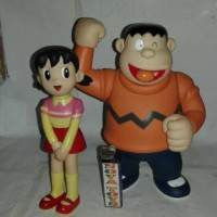 Big Soft Sisuka dan Giant. Dari Film Doraemon (Mainan Action Figure)