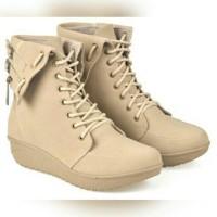 sepatu boots wanita /sepatu boot cewek outdoor touring main