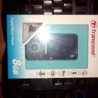 Transcend MP710 Hitam MP3 Fitness Recorder Player [8 GB]