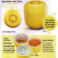 EGG Boiler With Timer Perebus Telor Mie Telur Tanpa Listrik