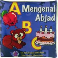buku bantal mengenal Abjad, Mainan edukatif / edukasi anak bayi balita