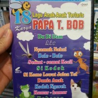 VCD KARAOKE 18 LAGU ANAK TERPOPULER KARYA PAPA T. BOB