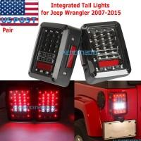Stoplamp LED Reverse Brake Tail Lights For 07-15 JEEP JK WRANGLER