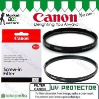 Filter UV Protector Canon 52mm 58mm for Lensa Camera Canon