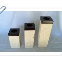 Tempat lilin Batu Alam, Dekorasi, Penggunaan rumah tangga, Candle-3