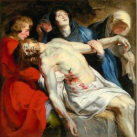 Lukisan The Entombment Karya Peter Paul Rubens (1612) Dekorasi Replika