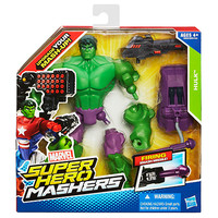 "Marvel Super Hero Mashers HULK 6"" Figure (4 +)"