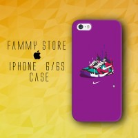 Nike Air on frame iphone Hard Case 4/4s 5/5s 5c 6/6s Plus