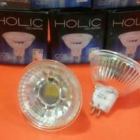 Jual Lampu Led Sorot  5 Watt =50watt Holic MR16 model halogen Super Terang Murah