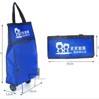 Tas Belanja Troli Lipat / Trolley Shopping Bag / Tas Troli - RAH232