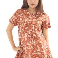 Model Baju Batik Wanita Cap Asli Palembang Berkualitas - Zallatra