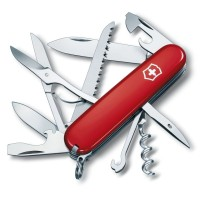 Pisau Lipat Victorinox Huntsman 1.3713.B1 Knife Swiss Army Original