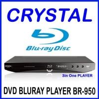 Blu Ray Player Crystal BR-950 (DVD, Multimedia, BluRay)