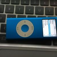 IPod Nanon 2nd Gen 4Gb Blue
