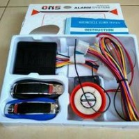 Alarm Pengaman Motor Ons Lock Sistem Remote Stater On Off