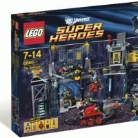 Lego ASLI 6860 Super Heroes Batman The Batcave Terbaik