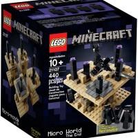 Lego ASLI 21107 Minecraft Minecraft Micro World The End Terbaik