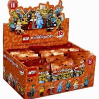 Lego ASLI 71011 Minifigures Series 15 Box Of 60 Random Figures Terbaik
