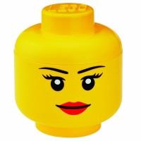 Lego ASLI 4032 Storage Head Girl Large Brick Terbaik