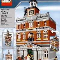 Lego ASLI 10224 Exclusive Creator Town Hall Brick Terbaik