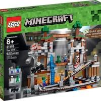 Lego ASLI 21118 Minecraft The Mine Brick Terbaik